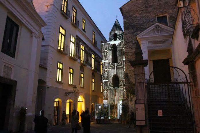 San Pietro a Corte durante linaugurazione
