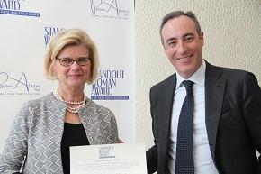 dott.ssa Anna Banchero e Assessore Gallera r
