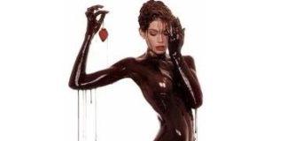 Donna al cioccolato