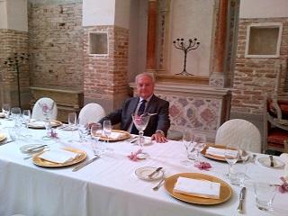 Il refettorio di San Clemente a Venezia