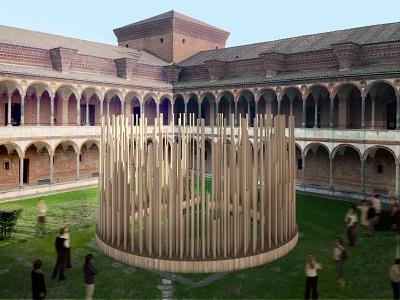 Installazione Radura Univ. Statale Stefano Boeri