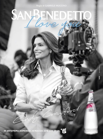san benedetto Cindy Crawford
