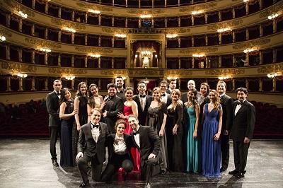 Allievi Accademia di perfezionamento per cantanti lirici del Teatro alla Scala foto di Rudy Amisano - Teatro alla Scala-