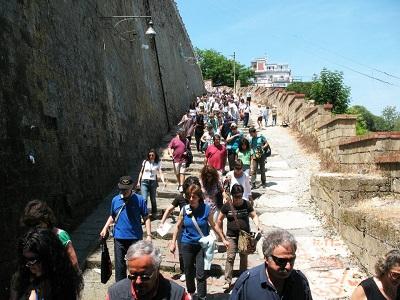 Napoli TrekkUrbano Pedamentina di San Martino r