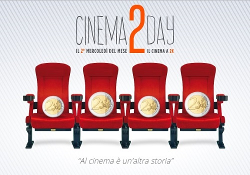 Cinema2day 2 euro