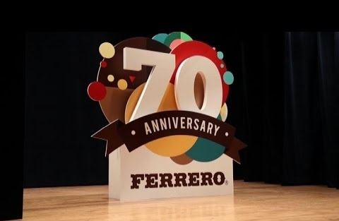 FERRERO 70 ANNI