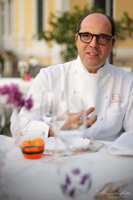 Lo Chef Ettore Bocchia del Grand Hotel Villa Serbelloni di Bellagio