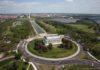 Washington, l'area dei Memorials vista dall'alto