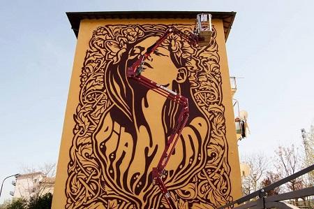 Diamond Street Art