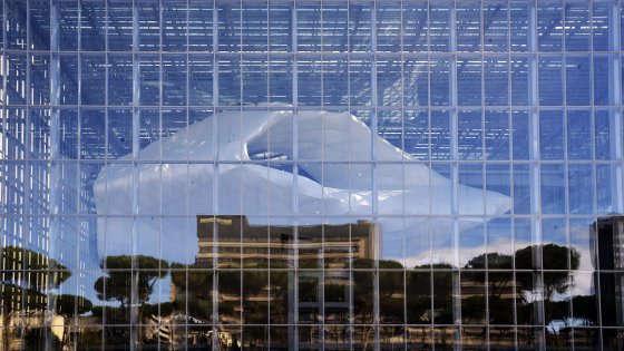 la nuvola di Fuksas a Roma