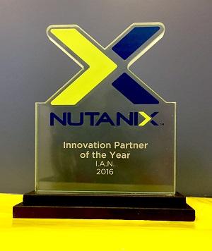 Nutanix premio IAN
