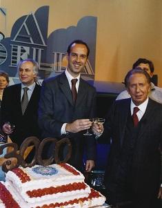 Edmondo Conti con Mike Bongiorno