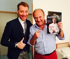 Gerry Scotti e Luca Medici