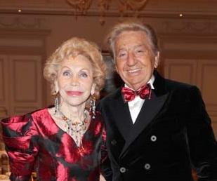 Urbano Alessio con la moglie Silvana Fiolini