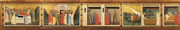 2 Bernardo Daddi Storie della sacra Cintola Prato Museo di Palazzo Pretorio