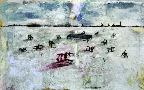 04 Giovanni Cerri Lassemblea 2013 t.m. su tela cm. 140x220