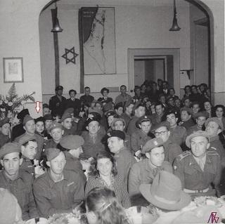 1946 Eva Fischer con la Brigata Palestinese