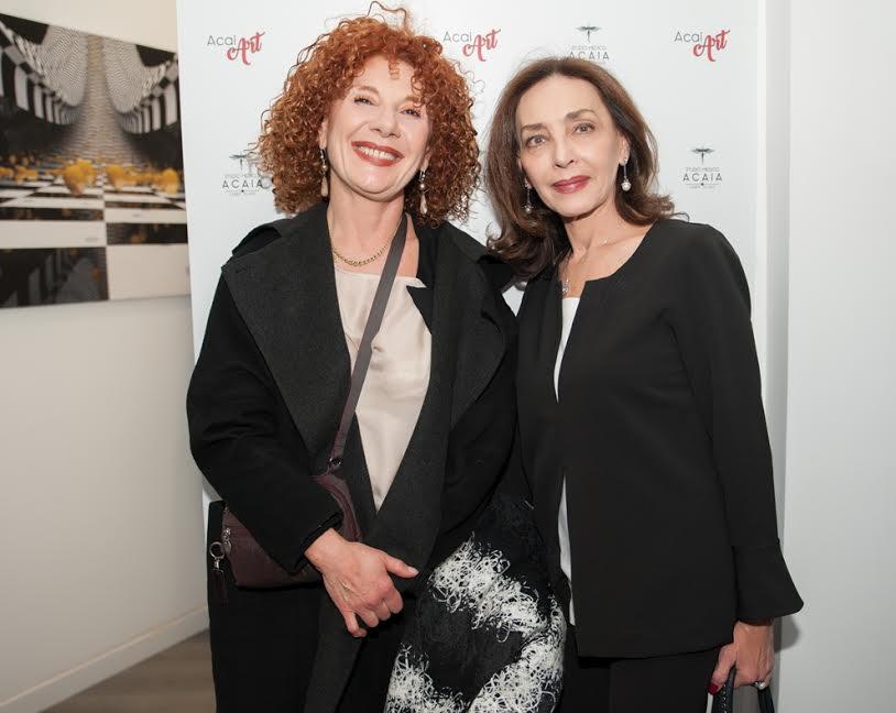 Cinzia leone e Maria Rosaria Omaggio