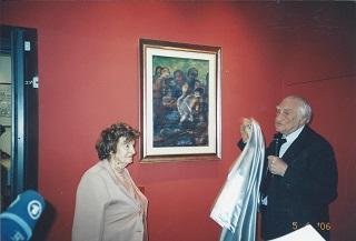 Eva Fischer e Massimo Rendina