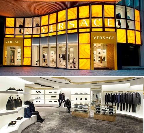 Versace - new flagship store a Hong Kong Central apr 2017