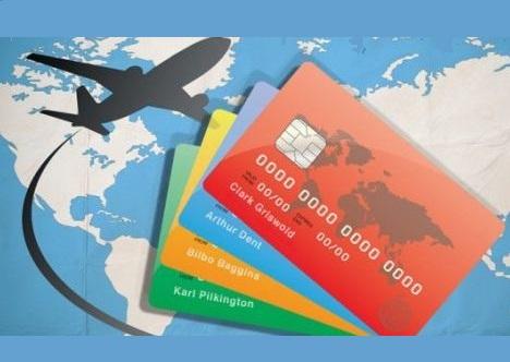 carta di credito in vacanza