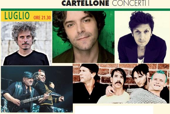 Concerti Milano Luglio