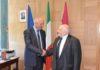Il Presidente Di Pangrazio e Mario Fratti