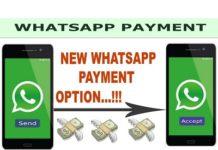 whatsapp digital payment services b