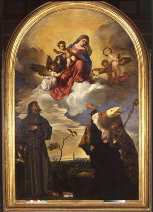 Tiziano - Sacra conversazione 1520