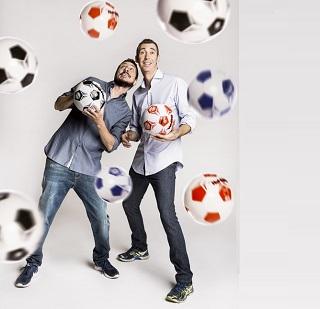 Rai2 Quelli che il calcio Luca e Paolo r