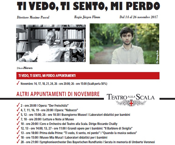 Milano Scala Novembre