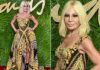 Donatella Versace - The Fashion Awards 2017