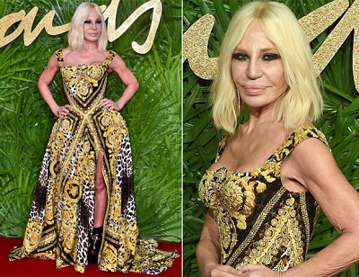 Donatella Versace - The Fashion Awards 2017