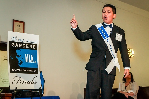 Annual Gardere MLK Jr. Oratory Competitions in Houston - Nhedrick Jabier
