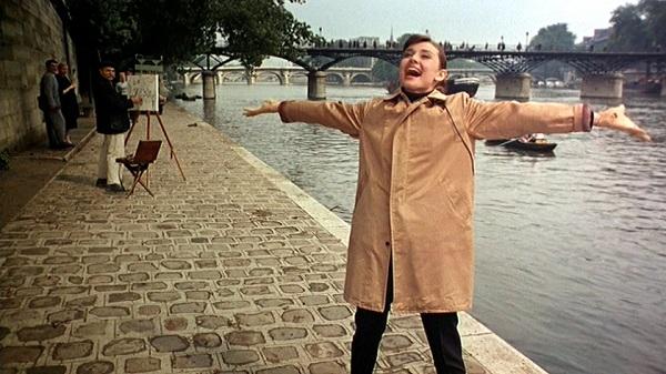 pont des arts paris audrey hepburn r