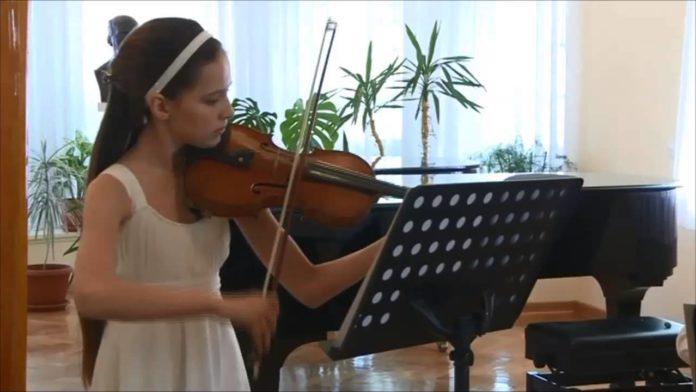 violinista Aleksandra Latinovic