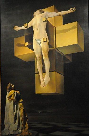 Corpus Hypercubicus di Salvador Dalí