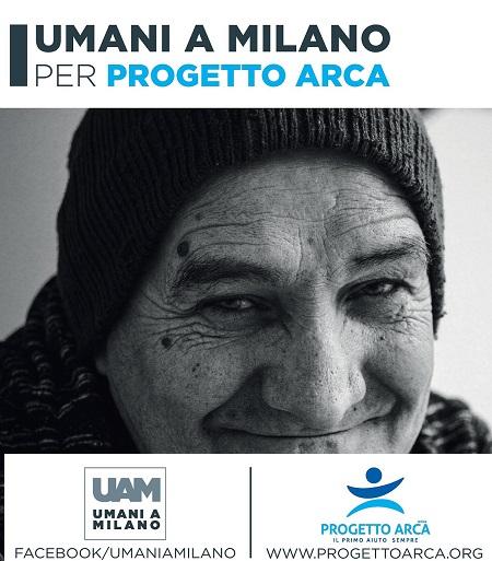 Umani a Milano Progetto Arca Manifesto