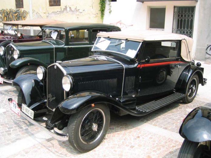 a1 Alfa Romeo 6C 1750 Cabriolet Castagna del 1933