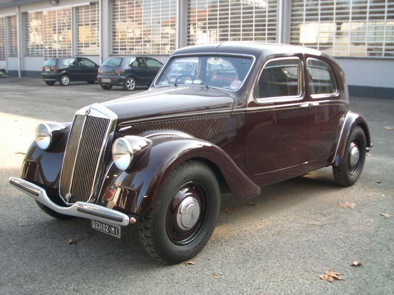 a4 Lancia Aprilia del 1938
