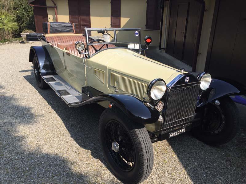 a5 Lancia Lambda Torpedo del 1931