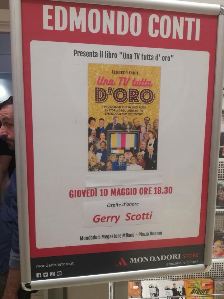 Locandina Presentazione libro TV TUTTA DORO