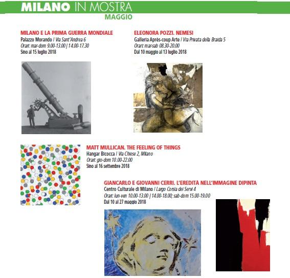 Milano mostre maggio 2018 h21