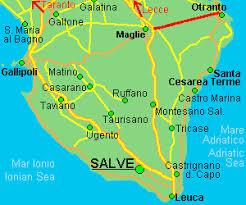 Salve Puglia Cartina.Salve Le Il Salento Promuove I Suoi Gioielli Con I Racconti Del Mare 24 Ore News