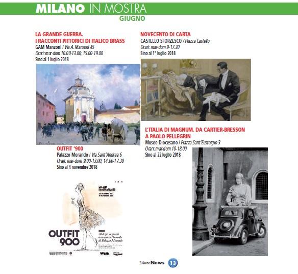 Milano mostre giugno 2018