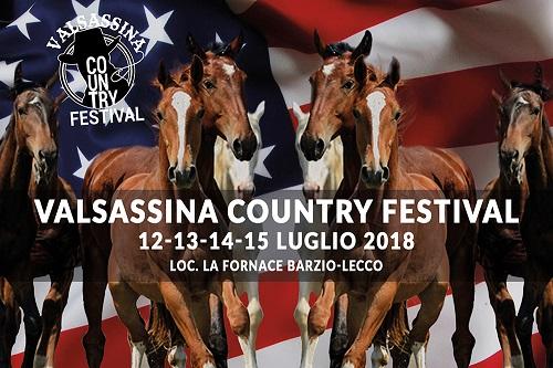 cartolina Valsassina COuntry Festival