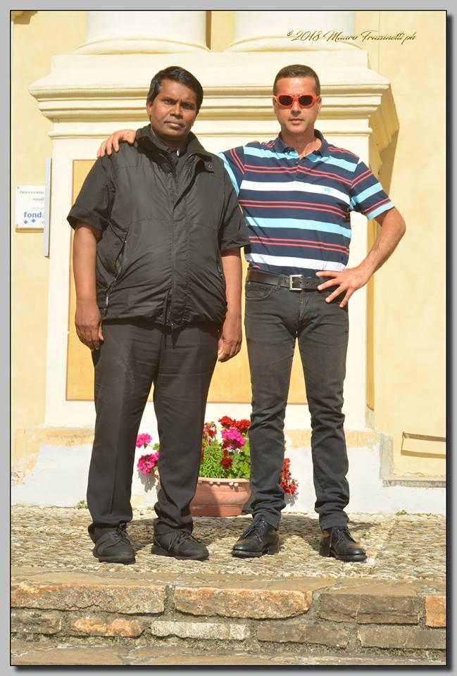 a dx. Cristian Flamia e dr. Chiusanico