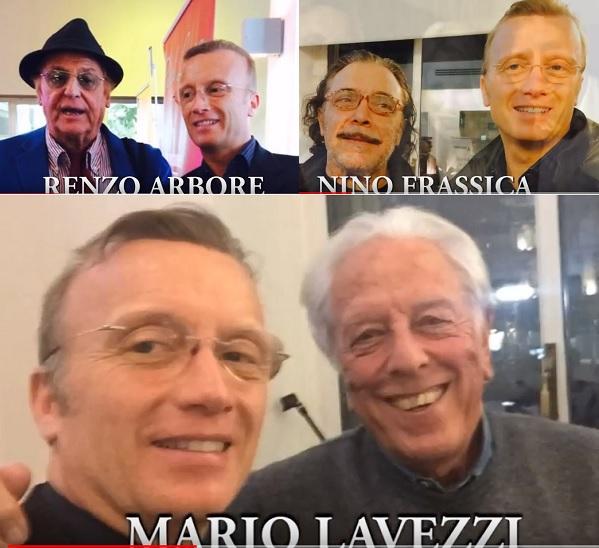 Klaus Bellavitis Mario Lavezzi Renzo Arbore Nino Frassica