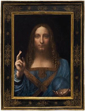 Leonardo da Vinci  Salvator Mundi - 1500 r