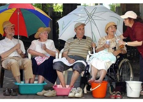 CALDO AFA anziani